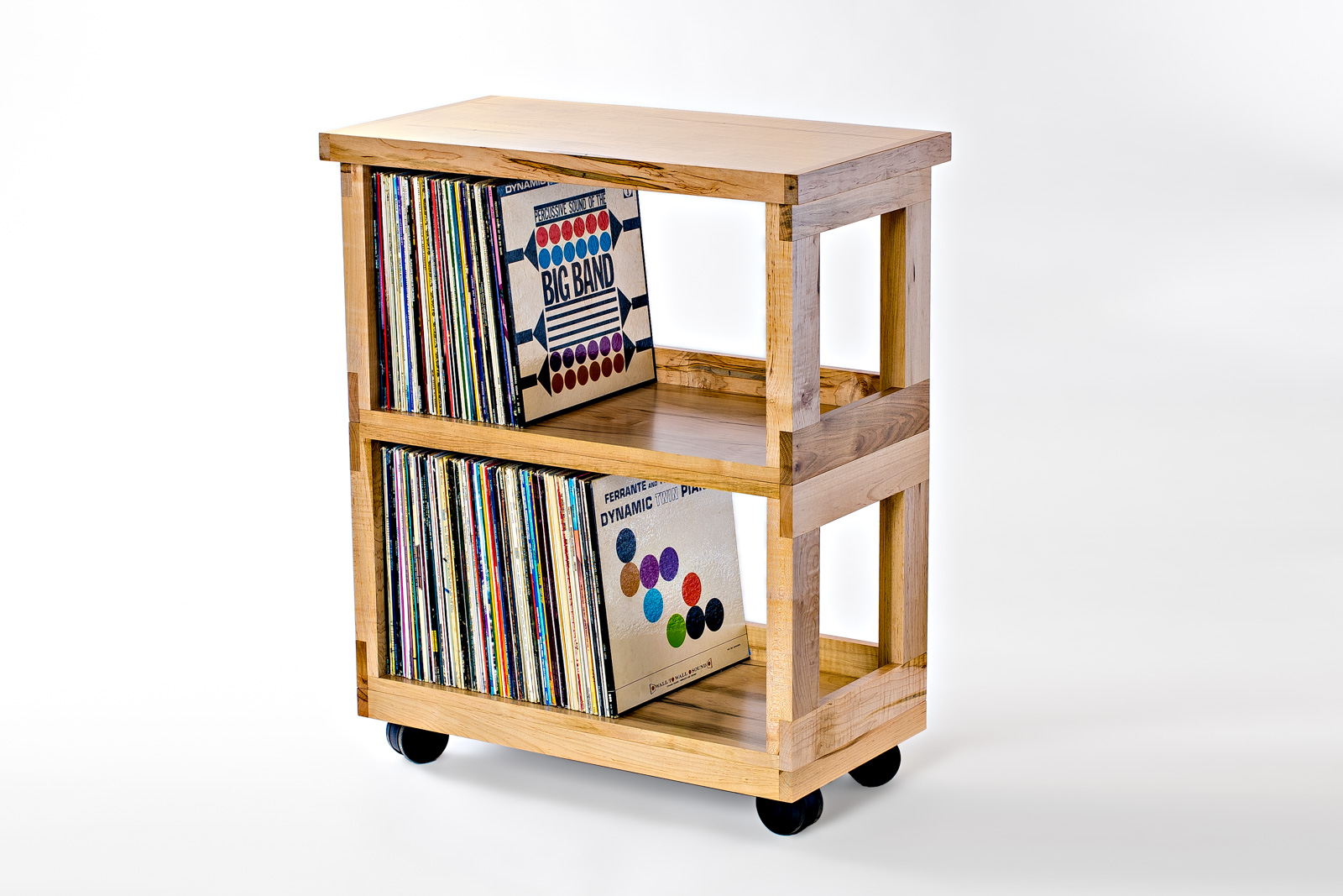 Maple Heirloom LP Cart : With selectable top options